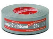 kip 326-48 steenband top zilver 48mm/50m